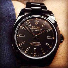 Rolex Milgauss Titan Black