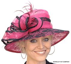 Pink Kentucky Derby hat but mine would have to be different colors