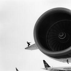 Think Big #dreams #aspirations #journeys #sky #travel #engine #plane