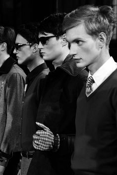 Dzhovani Gospodinov  Andrew Westermann  Paul Boche Photographed by Jae Fu Backstage @ Orley Fall/Winter 2014 | New York Fashion Week
