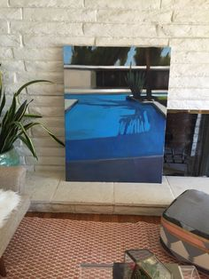 New pool painting