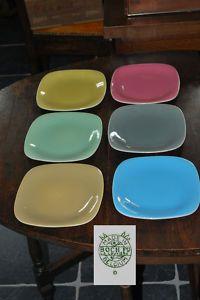 #vintage Boch plates