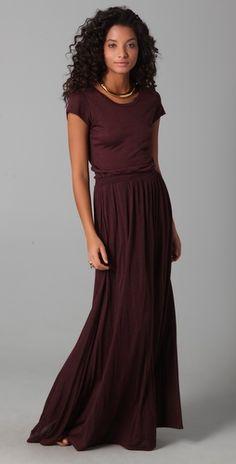 Maxi Tee Dress.