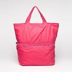 Revival Tote in Fuchsia by Mandarina Duck Handbags