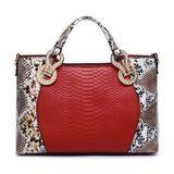 Snake Skin Bags Women Handbag Luxury Serpentine PU Leather Handbags Wo – diva Z bags & more
