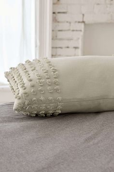 Plum & Bow Nora Tufted Chenille Bolster Pillow