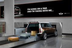 Company: Miami Ad School  Award: Silver World Medal; Brand: BMW / Mini; Title: Mini Cooper Clubman Airport Carousel; Country: USA