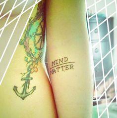 mind over matter tattoo - Google Search