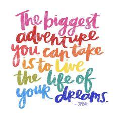 Biggest adventure | Amy Tangerine