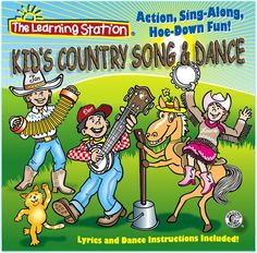 Put on your western hats and boots for this toe-tappin', knee-slappin', dancin', sing-a-along collection of songs, perfect for any shindig or jamboree. A delightful mix of original and traditional songs that overflow with country charm, whimsical humor and hootenanny, merry-time fun!