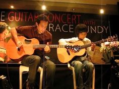 This is one of my favorites from Sungha Jung.  This kid is truly amazing!▶ Trace Bundy & Sungha Jung playing Canon on Acoustic Guitar - YouTube