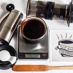 : @zacharyakelley #smartscale #mybrewista  I finally have a piece of art from @_xpaulx_ to express what I think every time I celebrate #mondayaeropressclub - - - #coffee #coffeegram #specialtycoffee #manmakecoffee #manualbrew #v60 #kalita #frenchpress #chemex #siphon #barista #Masfotokopi #coffeeshots #pourovercoffee #drinkgoodcoffee #coffeesesh #alternativebrewing #baristadaily  #instacoffee #coffeedaily #madeincoffee #sipandgulp #brew #arkansas #arkansascoffee #hobikopi…