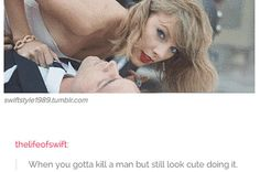 """""""If Taylor wrecked my car I'd probably say thank you."""" <<<pinning for the comment"""