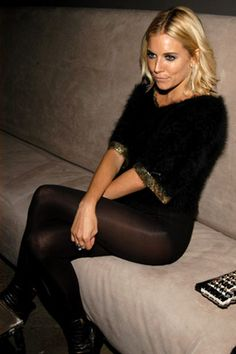 The Factory Girl Premiere and Cinema Society Screening Sienna Miller, in vintage.
