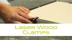 Learn how to use clamps with Gravograph solutions! Use clamps to hold the full sheet flat on the honeycomb table To fix small pieces, you can create yo. Types Of Wood, Honeycomb, Laser Engraving, Plastic Cutting Board, Flat, Create, Table, Wood Types, Bass