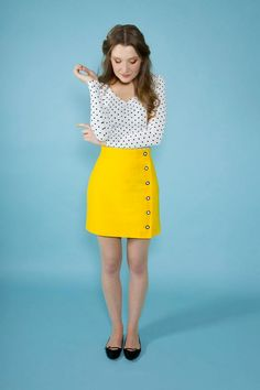 Tilly and the Buttons Arielle skirt - easy sewing pattern