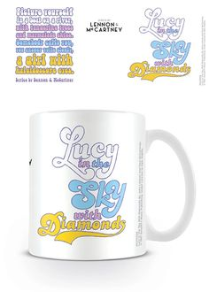 Music Drinkware – Page 2 – Cowes Town Central The Beatles, Lennon And Mccartney, China Mugs, Drinkware, Bath And Body, Something To Do, Lyrics, Music, Gifts