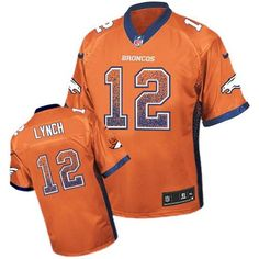 3e8f186ce Paxton Lynch Broncos Orange Drift Fashion Jersey Broncos Shop