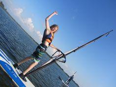 Obozy windsurfingowe. #wakacje #sport #fun