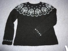Looking for knitting project inspiration? Check out Icelandic sweater by member maja.s..