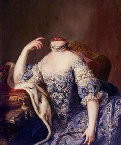 Portrait of Marie Antoinette by Martin van Meytens