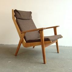 Rob Parry; 'Lotus' Lounge Chair for Gelderland, 1950s.