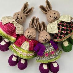suzymarie - pattern: littlecottonrabbits