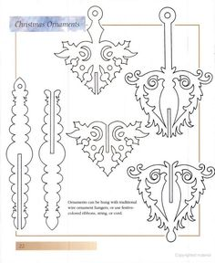 Woodtools - Книги - Decorative & Ornamental Scroll Saw Patterns