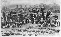 EQUIPOS DE FÚTBOL: WOOLWICH ARSENAL 1906-07