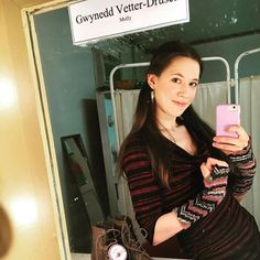 Happy Belated Birthday to @gwynedd_vetter_drusch!! We are so lucky to work with such a beautiful artists here in team LA land! Thank you for being a bright and shinning light and sending so much love to you for this season!! #Repost @gwynedd_vetter_drusch with @repostapp  In the dressing room wearing #red stripes as I prepped for a preview of #peterandthestarcatcher tonight @cidermillplayhouse --I stand in solidarity with all who were striking today though I didn't strike myself. However in…