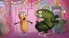 Disney XD's #PickleAndPeanut is a visual feast (literally) with a teen point of view http://variety.com/2015/artisans/production/disney-xd-pickle-and-peanut-is-visual-feast-1201595317/ …