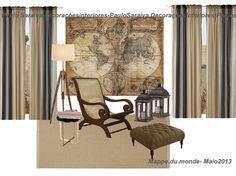 Mappe du Monde...