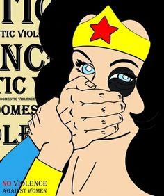 No dia da mulher, princesas dizem não à violência doméstica - Comportamento