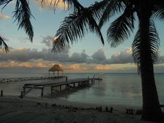 San Pedro, Belize Ambergris Caye, Cata, Belize, New Friends, Travel Destinations, America, Sunset, Country, Beach