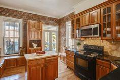 Historic Properties for Sale. Beautiful Washington DC kitchen.