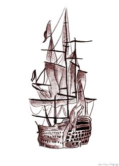 Harry's ship tattoo. I honestly dont know why but, this tattoo has always been my favorite and its always intrigued me. Im quite drawn to it