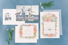 Invitations: Minted - http://www.stylemepretty.com/portfolio/minted Photography: Margaret Austin Photography - margaretaustinphoto.com   Read More on SMP: http://www.stylemepretty.com/california-weddings/2016/02/20/rustic-blush-and-blue-wine-country-wedding/