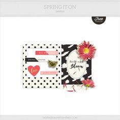 Free Spring It On Mini Kit | Digital Design Essentials