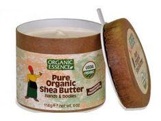 ORGANIC ESSENCE - Pure SHEA máslo, ručně vyrobeno v Ghaně (113g)