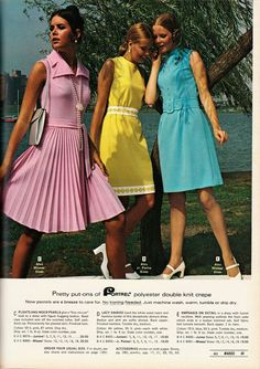 """Ahh, Montgomery Ward (or """"Monkey"""" Wards as it was affectionately known) was a staple of Americana for decades before sliding silently into t. 60s And 70s Fashion, Junior Fashion, Teen Fashion, Fashion Models, Vintage Fashion, Vintage Outfits, Vintage Clothing, Colleen Corby, 70s Mode"""