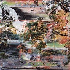 Gerhard Richter. Untitled (3.12.1999 Firenze), 12 cm x 12 cm, Oil on colour photograph