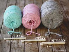 SusiMiu | Trucos y atajos para tejer con Trapillo. Segunda parte