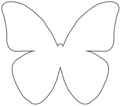 butterfly template DIY Beautiful Butterfly Decoration from Templates Butterfly Outline, Simple Butterfly, Butterfly Template, Butterfly Party, Butterfly Birthday, Butterfly Crafts, Butterfly Stencil, Paper Butterflies, Beautiful Butterflies