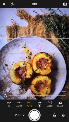 Amazing tips for lighting, camera settings, editing and raising your iPhone food photography to the next level! Make tasty food photos with your phone. Lightroom Mobile App Changing The ISO, WB, Shutter Speed and Manual Focus For the smartphone Camera