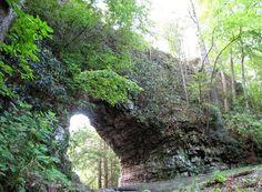 Backbone Rock near Shady Valley, TN