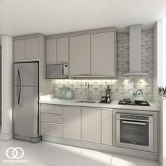 Gloss Kitchen Cabinets, Kitchen Cabinet Design, Interior Design Kitchen, Purple Kitchen Decor, Home Decor Kitchen, Home Kitchens, Smart Kitchen, Kitchen Sets, Modern Kitchen Interiors