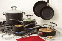 My Circulon Cookware Store - Circulon Contempo Hard Anodized Nonstick 10-Piece Cookware Set