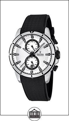 Festina cronógrafo de cuarzo para hombre-reloj plástico F16850/1 de  ✿ Relojes para hombre - (Gama media/alta) ✿