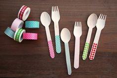 Marca los cubiertos para picnics originales