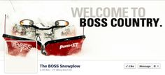 Awesome Facebook cover photo from The BOSS Snowplow >> see more here: 12 B2B Facebook Cover Photos to Get Your Creative Juices Flowing via @HubSpot